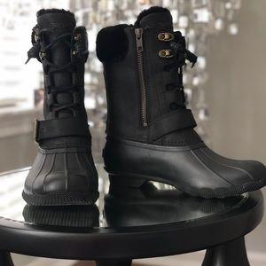 Sperry Saltwater Misty Duck Boot (black) Size 6